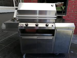 Stainless steel Gas braai for sale