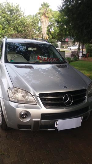 2007 Mercedes Benz ML 63 AMG
