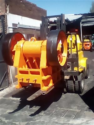 400 x 600 (16' x 24') Jaw Crusher