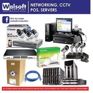 Network, POS, CCTV