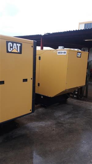 165KVA Standby Cat Silent Diesel Generator