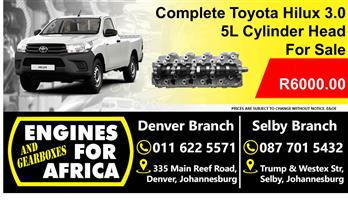 Toyota Hilux 3.0TDI 1Kzte engine 99-02 For Sale