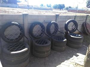 4 Tyre garden chairs for sale