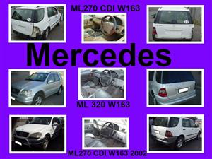Mercedes W163 spares for sale.