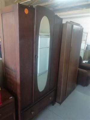 Vintage cupboard with mirror