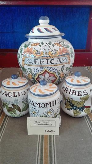 Handmade Italian Jars