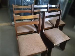 5x Kitchen chairs