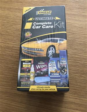 Shield Ultimate Complete Car Care Kit 7 Pack