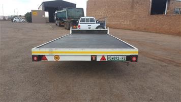 6m x 2.4m wide trailer double axle