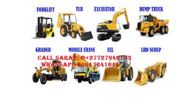 Front end loader training machines & Electrical courses/+27727949173