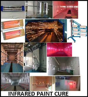 INFRARED PAINT CURE/AREA  WARMING/CONCRETE DRYING SOLUTIONS .