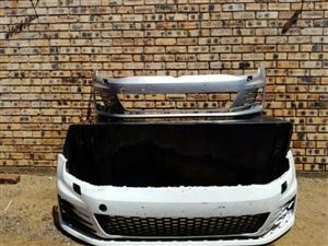 Volkswagen Golf 7 Gti Front Bumper