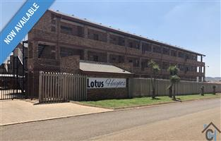 Amazing 2 wing bedroom apartments at the very affordable and secure Lotus Rock Complex in Lotus, Pretoria West.