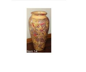 Colored flower vase for sale