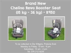 Brand New Chelino Revo Booster Seat (15 kg - 36 kg)