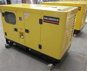 Silent Diesel Generator 6.5Kva - Key start