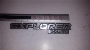 Explorer xlt badge