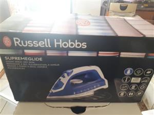 Brand New Russel Hobbs Supreme Glide Steam Iron