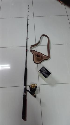 Fishing Boat/Kayak Rod, Reel & Belt R950