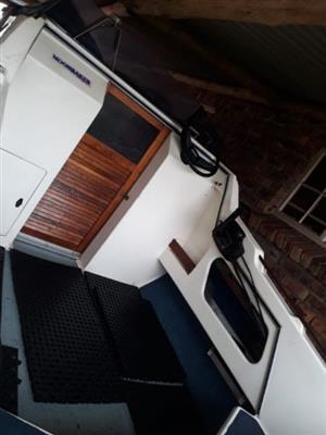 Moonraker cabin boat for sale.