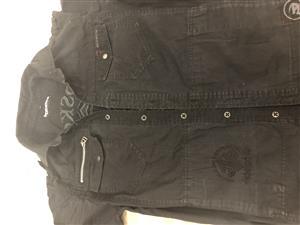 Moscow black long sleeve men's shirt