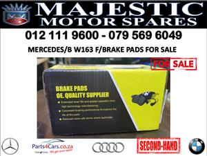 Mercedes benz W163 brake pads for sale