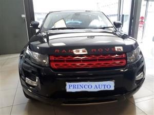 2012 Land Rover Range Rover Evoque Si4 Prestige