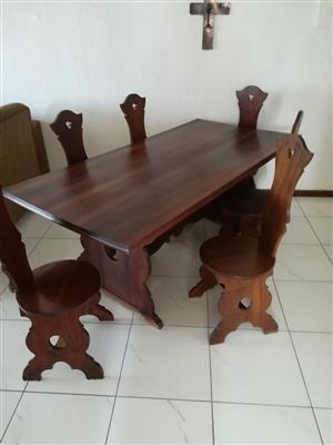 Dining Room Set - Imbuia Wood