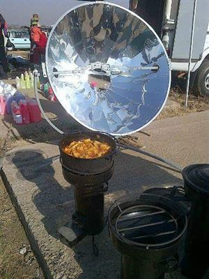 Solar Cookers and Rocket stoves