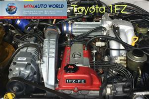 Imported used  TOYOTA LANDCRUIZER 24V 4.5L INJ, 1FZ engine Complete