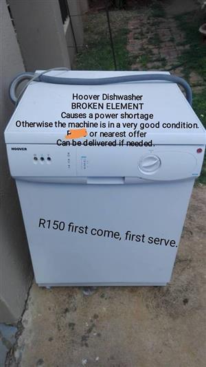 Hoover dishwasher for sale