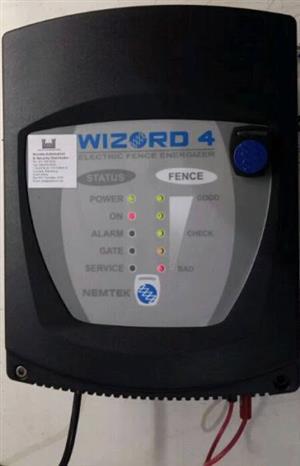 Nemtek Wizard 4 energiser for sale