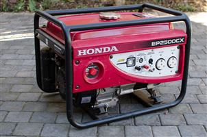 Generator:  Honda EP2500CX