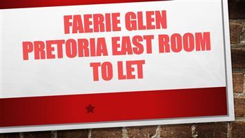 Faerie Glen Pretoria East Room to let