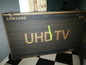 """55"""" Samsung UHD 4k Smart Slim Tv"""