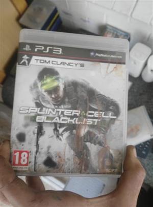 Splinter cell blacklist ps3 game
