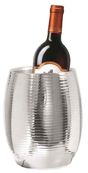 Stainless steel wall wine cooler ribbed!! On Promotion!!!