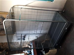 Parrot cage for sale . Very good condition .