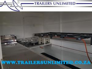 TRAILERS UNLIMITED. 2000 X 1600 X 2000 ECONOMIC CATERING TRAILERS. R30 000. EXCL.