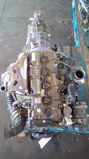 4JJ1 ISUZU KB300 2.5 DIESEL ENGINE  AND GEARBOX FOR SALE