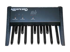 Keyboard bass pedals