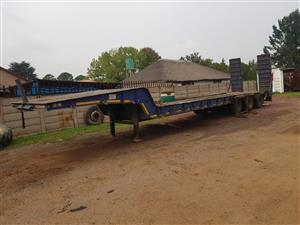 2009 Top trailer low bed