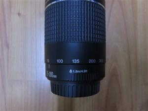 Canon EF 75 to 300mm f4.0-5.6 III USM Lens