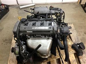 TOYOTA COROLLA 1.8L, 7AFE Complete Engine