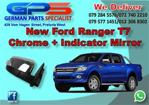 New  Ford Ranger T7 Chrome Mirror for Sale