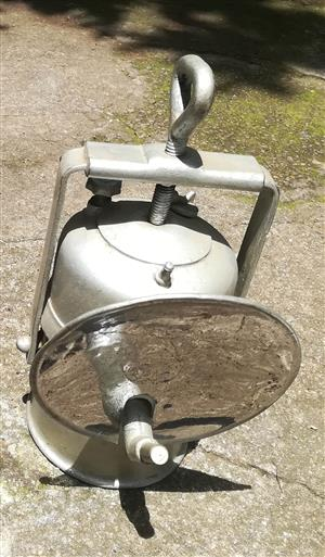 Antique Coal Miner Carbide Lamp For Sale.