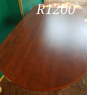 Large oval table for sale