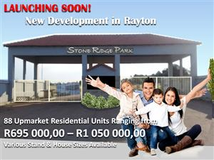 New Housing Development - Rayton