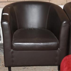 Leather chair S029894D #Rosettenvillepawnshop