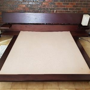 Zen bed king size extra length